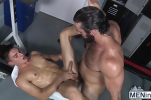 Anthony will get railed by Jaxtons cock