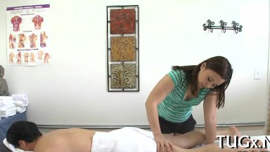 Intercourse and therapeutic massage for a fortunate dude