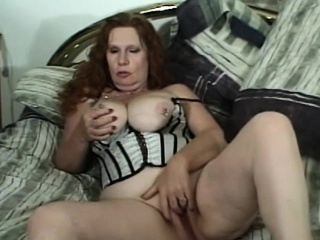 Mature redhead chick will get huge black cock