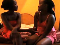 Shiro and Sharleen are two scorching African lesbians hooked on pussy toyi