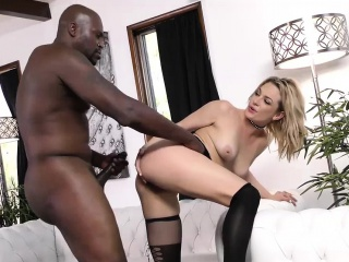 Dahlia Sky Loves Anal Huge Black Cock