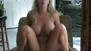 Amber Lynn Bach reverse Cowgirl with Creampie