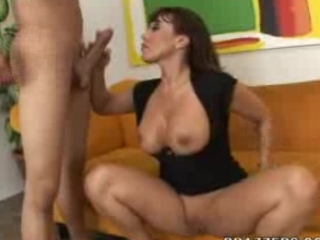 Ava Devine teaches youthful man how one can fuck appropriately