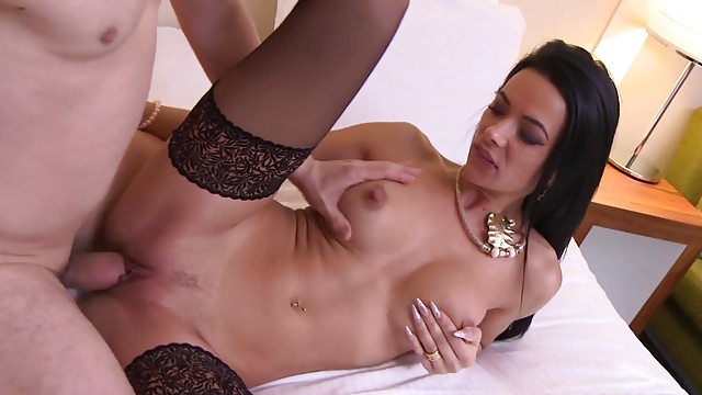 Sizzling milf and her youthful lover